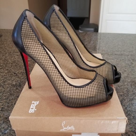 newest a9a27 f45b4 Christian Louboutin Very Rete 120